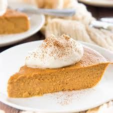 the best crustless pumpkin pie the