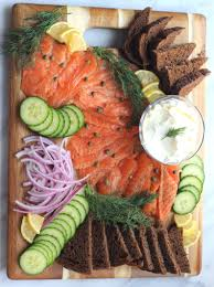 homemade lox platter so happy you