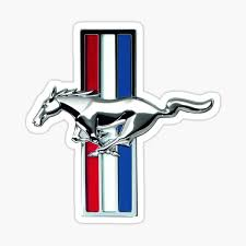 Ford Mustang Stickers Redbubble
