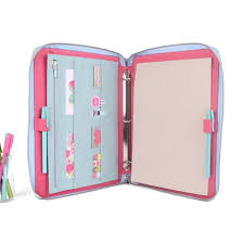 a4 8 5x11 leather ring binder planner