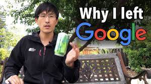Why I left my job at Google (as a software engineer) - YouTube