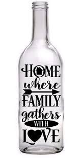 Wine Bottle Vinyl Decal Sticker Harry Potter Quote Light Bottle Garden Gift Diy