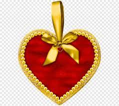 heart pendant ilration