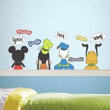 Mickey Mouse And Friends Roommates Decor