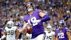Vikings WR Adam Thielen limited in practice by ankle injury ...