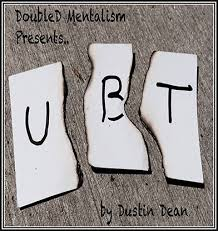 UBT (Underground Bottom Tear) by Dustin Dean DRM Protected Ebook Download