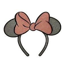 Disney Window Decal Minnie Mouse Ears Headband