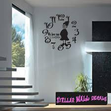 Clock Face We Love You Grandma Family And Friends Wall Decals Wall Quotes Wall Murals Cf014grandmai Swd