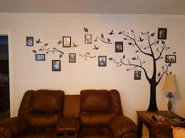 Amazon Com Large Family Tree Wall Decal Diy Black Photo Frame Tree Wall Decor Sticker Mural Decal Art Decor For Living Room Home Decor Home Kitchen