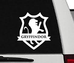 Car Truck Decals Emblems License Frames Harry Potter Gryffindor House Vinyl Decal Sticker Car Truck Decals Stickers Free Buy 1 Get 1 Moonnepal Com