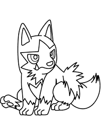 Poochyena Pokemon Coloring Pages Pokemon Coloring Pages Clip