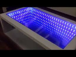 infinity mirror table self made you