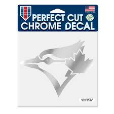 Toronto Blue Jays Wincraft 6 X 6 Chrome Decal
