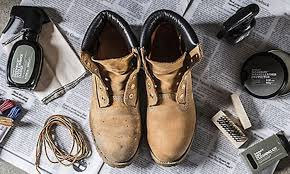 timberland nubuck and leather boots