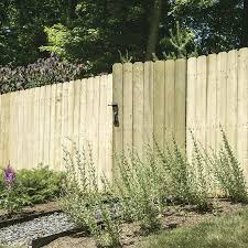 Severe Weather 6 Ft H X 8 Ft W Pressure Treated Spruce Pine Fir Dog Ear Fence Panel In The Wood Fence Panels Department At Lowes Com