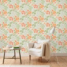 ava orange sandberg wallpaper