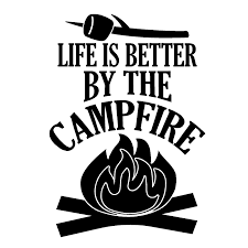 2020 16 11 2cm Life Is Better By The Campfire Decal Camping Hiking Funny Car Window Bumper Novelty Jdm Drift Vinyl Decal Sticker From Xymy777 1 69 Dhgate Com