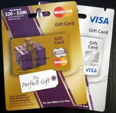prepaid visa mastercard gift cards