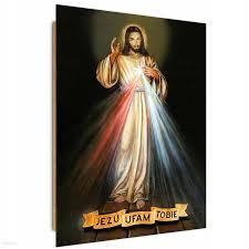 Obraz Na Ścianę Jezus Miłosierny Deco Panel 30x40 - Opinie i ...