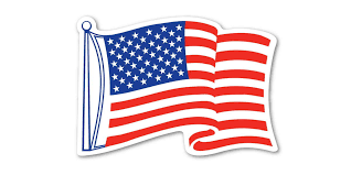 American Flag On Trucks Rules For Displaying Stickers Decals Magnets