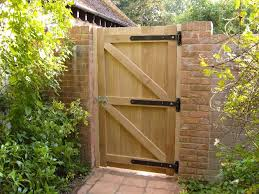 build a garden gate uk