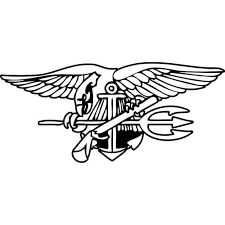 Us Navy Seal Trident Decal Sticker Navy Seal Trident Thriftysigns