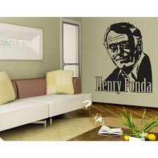 Henry Fonda Wall Decal Vinyl Art Home Decor Copper 39in X 52in Walmart Com