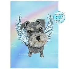 angel art picture dog memorial pet loss