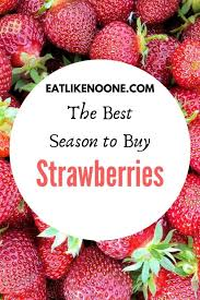 season to strawberries