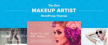 makeup artist wordpress template