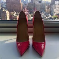 louboutin pink patent pigalle