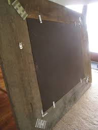 build a mirror from reclaimed barn wood