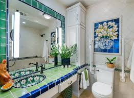 mexican inspired accessible bath
