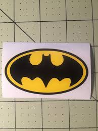 Batman Logo Custom Decal Sticker For Your Yeti Rambler Tumbler Colster Custom Decal Stickers Custom Decals Yeti Decals