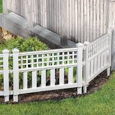 Flower Bed Fence For Dogs