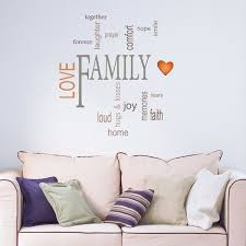 Family Wall Quote Home D Cor Line Wall Decals