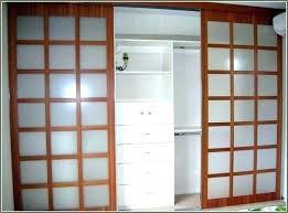 decorative sliding glass closet doors