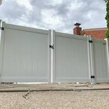 Vinyl Gate Installation Metro Detroit Kimberly Fence Supply