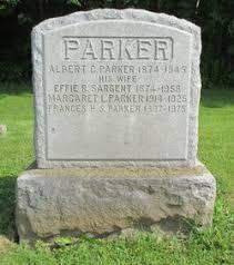 Effie Reed Sargent Parker (1874-1958) - Find A Grave Memorial