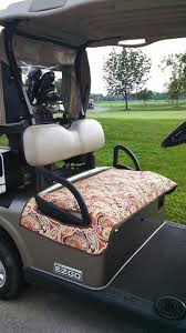 quilted golf cart seat cover pattern