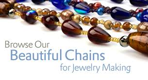 chains for jewelry making at whole