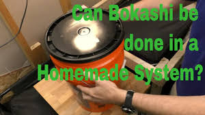 starting a homemade bokashi system