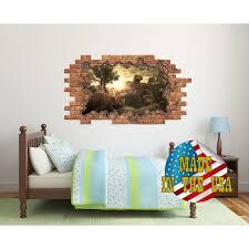 Shop Dinosaur 3d Wall Decal Overstock 31585287