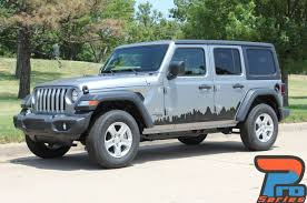 2019 Jeep Wrangler Side Decals Scape Side Kit 2018 2020