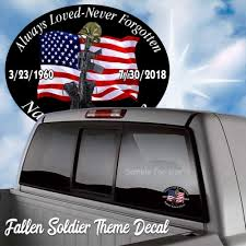 Fgd Never Forget Kneeling Soldier Cross White Window Decal 8 W X 8 H Car Truck Graphics Decals Auto Parts And Vehicles Tamerindsa Com Ar