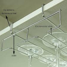 wine glass stemware rack holder