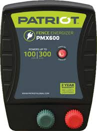 Buy Here Patriot Pmx 600 Ac Powered Fence Charger Free Shipping Speedrite Electric Fence Chargers Energizers Tru Test Livestock Scales From Valley Farm Supply