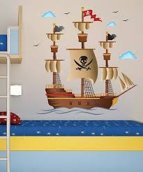 Art Applique Pirate Ship Wall Decal Set Best Price And Reviews Zulily