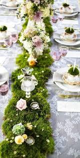 table decor idea garden wedding