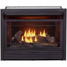 propane natural gas fireplace insert